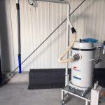 Druckluft/Ölsauger mit Einschaltautomatik und Teleskoparm