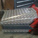 Sonderbau einer Kehrmaschine für die Stahlindustrie